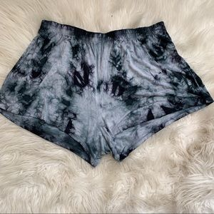 🌛Aerie🌛 soft tie dye pj shorts